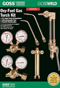 Goss Ka 825 b 825 Series Oxy acetylene Welding Brazing And Cutting Kit With B A
