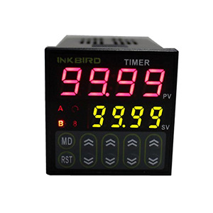 Digital Twin Timer Relay Time Delay Relay Switch 110 220v Black By Inkbird New