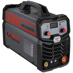 Amico 200 Amp Stick Arc Dc Welder 100 250v Wide Voltage 80 Duty Cycle