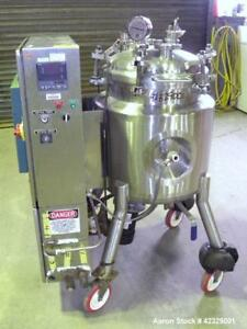 Used Precision Stainless Reactor 60 Liter 15 8 Gallon 316l Stainless Steel
