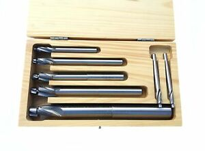 Brand New Hhip 2007 0002 7 Piece Hss 3 Flute Solid Pilot Counterbore Set