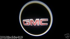 No Drill 2 X Led Logo Light Ghost Shadow Projector Car Door Laser For Gmc