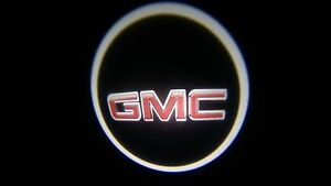 2x Wireless Car Door Led Welcome Projector Logo Ghost Shadow Light For Gmc