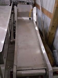 Stainless Steel Incline Conveyor