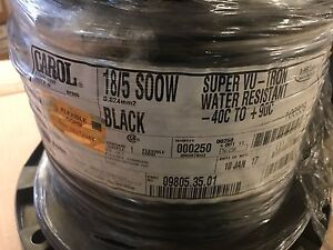 General Cable 09805 35 01 Portable Cord Soow 18 5 Awg 250 Ft 5 6a