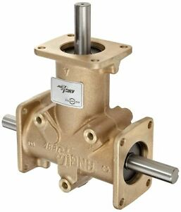 Andantex R3350 Anglgear Right Angle Bevel Gear Drive Universal Mounting Two Ou