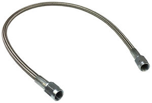 Braided Stainless An Brake Line 24 3 Straight Ends 1293
