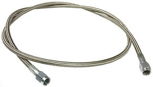 Braided Stainless An Brake Line 48 3 Straight Ends 1295