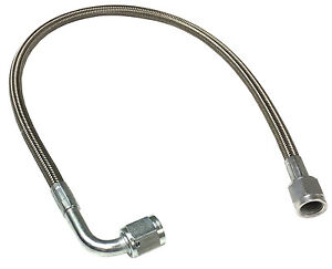 Braided Stainless An Brake Line 12 4 Straight 90 Ends 1312