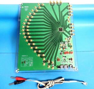 Philips Semiconductor Om5813 Demo test Board For Tza3017hw Ic Chips W Platform
