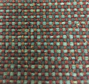 Best Copper Moss Tweed Fabric Upholstery Mid Century Modern Vintage Danish