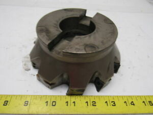 Walter Valenite F4042 ub 51 152 z10 16 Indexable Face Mill 6 W 2 Arbor