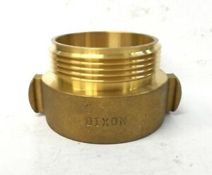 Dixon 2 1 2 Hydrant Adapter Rocker Lug Rha25t25f Brass Threaded