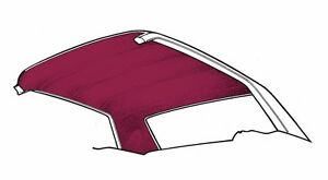 New Ford Mustang Headliner 1971 1972 1973 Coupe Hardtop Dark Red Maroon
