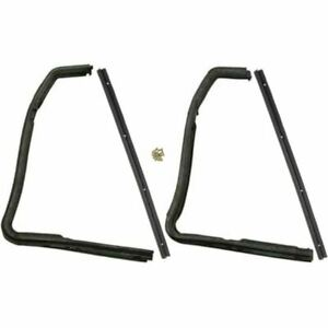 1952 1954 Ford Mercury 2dr Hardtop Convertible Front Vent Window Seal Kit