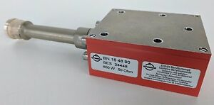 Spinner 600w 50ohm Coaxial Dc To Rf Dummy Load Resistor 7 16 Din