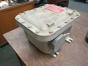 Adalet Explosion Proof Outlet Box Xjf 081006 Used