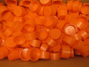 Niagara Plastics Tc 20 Threaded Plastic Caps 1 5 8 12 Lot Of 468