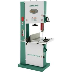 G0531b Grizzly 21 5 Hp Industrial Bandsaw With Brake