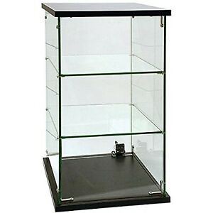 Kc Store Fixtures 16526 Frameless Glass Countertop Showcase 13 Length X 13 Hei