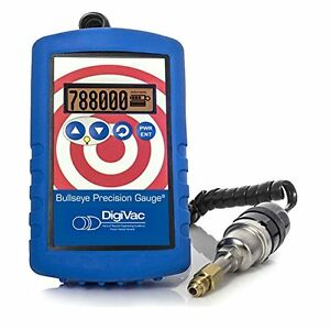 Digivac Bpg r Portable Battery operated Precision Micron Gauge With Leak Detect