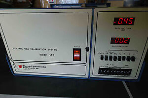 Thermo Environmental Instruments Inc Model 146 Dynamic Gas Calibration System