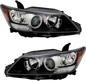 Halogen Headlight Headlamp Headlights New Pair Set For 2011 2012 2013 Scion Tc