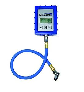 Digital Air Pressure Gauge With Angle Chuck 99 99 Psi Intercomp