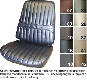 1971 72 Oldsmobile Cutlass Supreme Front Rear Seat Covers Pui