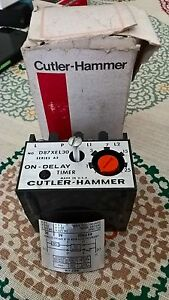Cutler hammer D87xel30 Solid State Timer Module On Delay New In Box
