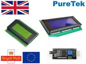 Lcd Display Blue Green yellow 1602 16x2 Or 2004 20x4 Or 1604 16x4 For Arduino