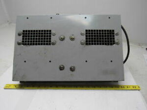 1 12 Hp 1ph 1 5a 115v 60hz Dual Squirrel Cage Electric Cooling Fan