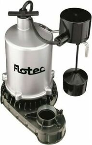 Flotec Fpzt7550 Zinc 1 Hp Submersible Sump Pump