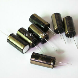 Elna 50v 3300uf Ra3 Audio Grade Electrolytic Capacitors 10 Pcs 20 Pcs 50 Pcs