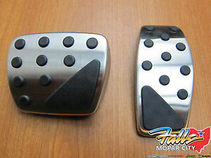 2015 2020 Jeep Compass Renegade Stainless Steel Pedal Kit New Mopar Oem
