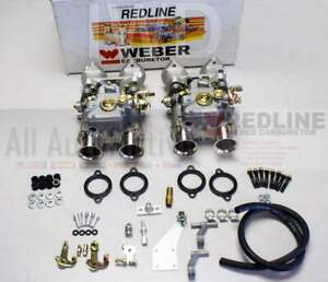 Bmw 320i 318i Dual 45 Dcoe Weber Carburetor Kit Performance Redline Dcoe Kit
