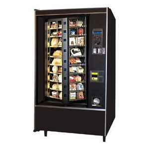 Crane Vending Machine Rotating National Vendors Cold 431 Refrigerated Food 431d