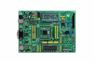 Pic Development Board Easypic Pro For Dspic Pic24 Pic32 With Dspic30f60 14a Card