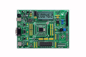 Pic Development Board Easypic Pro For Dspic Pic24 Pic32 With Dspic33fj2 56gp510