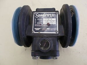 Warren Rupp Sandpiper Air powered Double Diaphragm Pump Tgr 1 pp Model Pb1 2 a