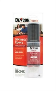 Devcon 20845 5 Minute High Strength Paintable Epoxy 1 Oz pack Of 6