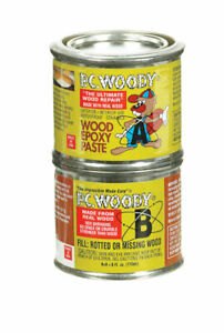 Pc woody Tan Two Part Wood Epoxy Paste 6 Oz