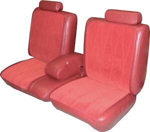 1978 Oldsmobile Cutlass Supreme Coupe Front Rear Seat Covers Pui