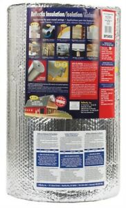 Reflectix Bubble Pack Insulation 24 X 50 R3 7 R21 Energy Star Qualified