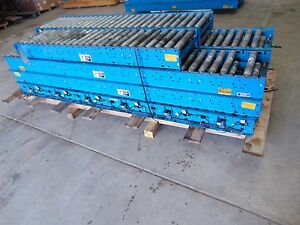50 Hytrol Driven Belt Conveyor Gravity Roller Conveyor