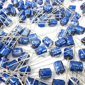 Elna 100uf 16v Blue Audio Grade Electrolytic Capacitors 50 Pcs 100 Pcs