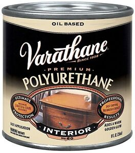 Varathane Polyurethane Satin Clear 1 2 Pt Low Voc Pack 4