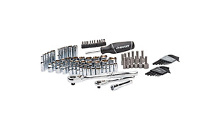 New Husky Mechanics Craftsman Ratchet Socket Tool Set 92 piece Kit Auto Repair