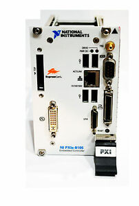 National Instruments Ni Pxie 8105 2 0 Ghz Dual core Pxi Exp Embedded Controller