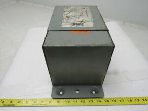 Hammond Manufacturing Q1c0leaf 1 Kva Electric Transformer 240 X 480 Single Phase